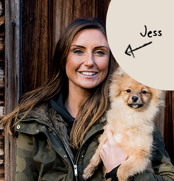 Jess's team member picture